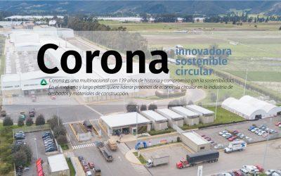 Corona: Una organización Innovadora, sostenible y circular